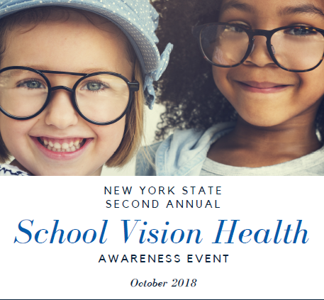 October is Vision Month